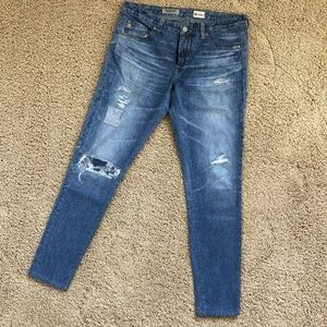 AG the legging ankle super skinny denim pants 29